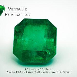 esmeralda colombiana de 4 quilates colombian emeral 4 carats