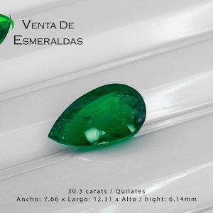 esmeralda-talla-lagrima-de-3.03 quilates precio