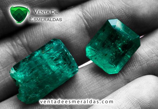 esmeraldas colombianas talladas y en bruto rough colombian emerald