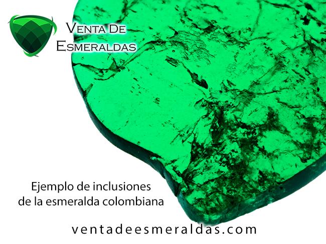 inclusiones jardín de las esmeraldas colombianas