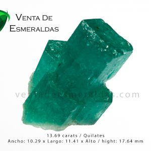 esmeralda en bruto canutillo rough emerald