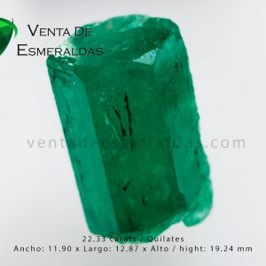 esmeralda en bruto , rough colombian emerald
