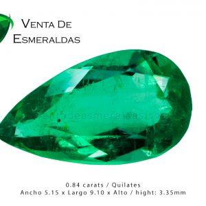 esmeralda talla lagrima con precio emerald pear