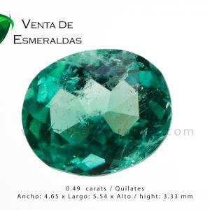 esmeralda talla ovalada colombian emerald shape oval