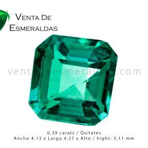 esmeralda de colombia talla cuadrada colombian emerald esmeraldas bogota