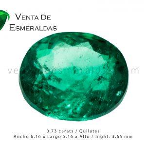 esmeralda talla ovalada colombian emerald oval cut
