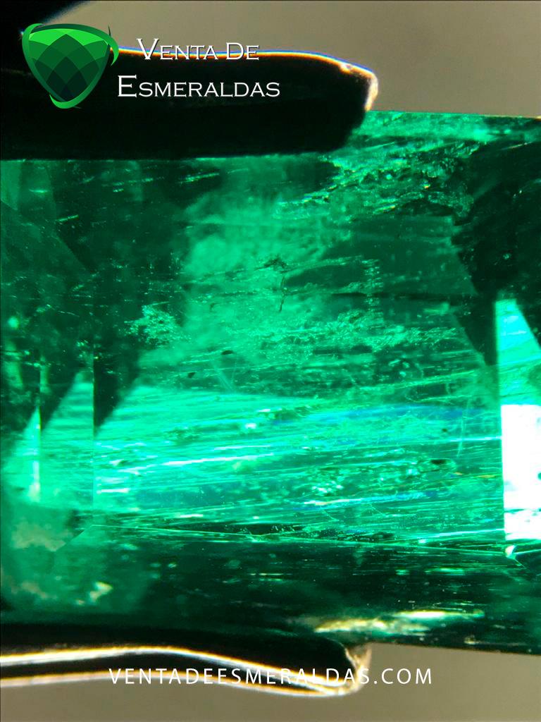 esmeralda Gota de aceite tear emerald
