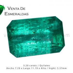 esmeralda colombiana de 3 quilates colombian emerald 3 carats