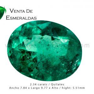 esmeralda talla ovalada oval emerald