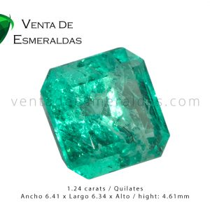 esmeralda colombiana de 1-24 qulates colombian emerald